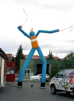 Air Dancer zweibeinig